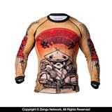 "Tatami x Chris Burns ""Samurai Panda"" Rashguard"